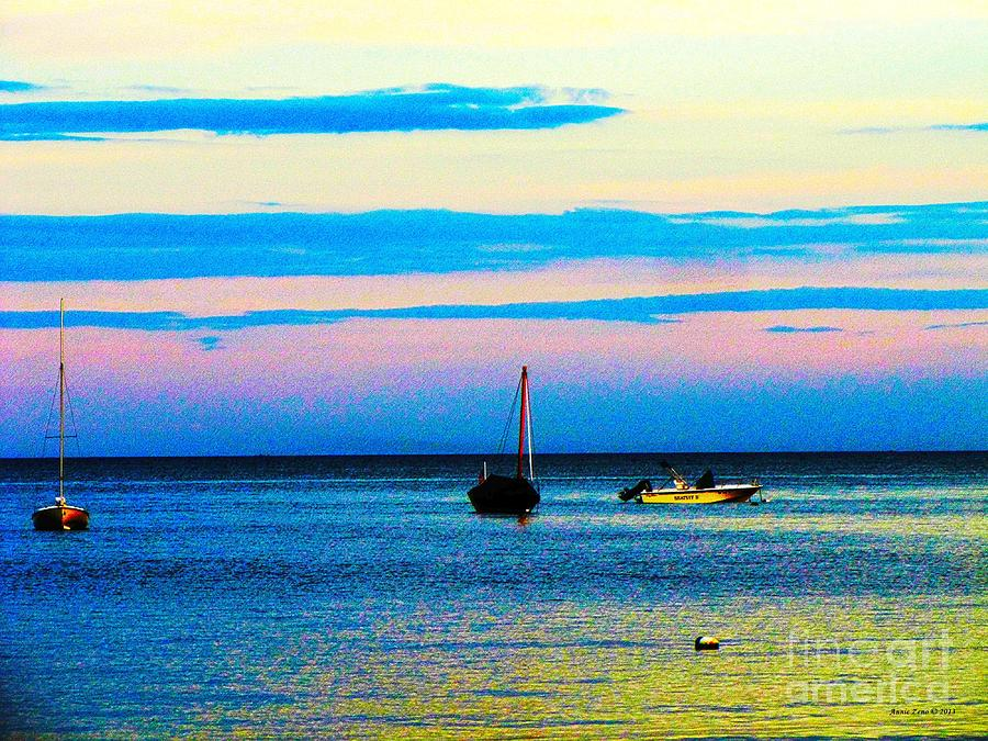 Peaceful Ocean Evening Photograph
