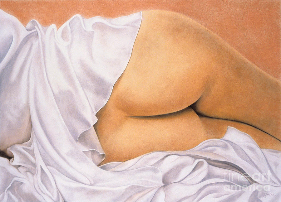 Peachass Painting  - Peachass Fine Art Print