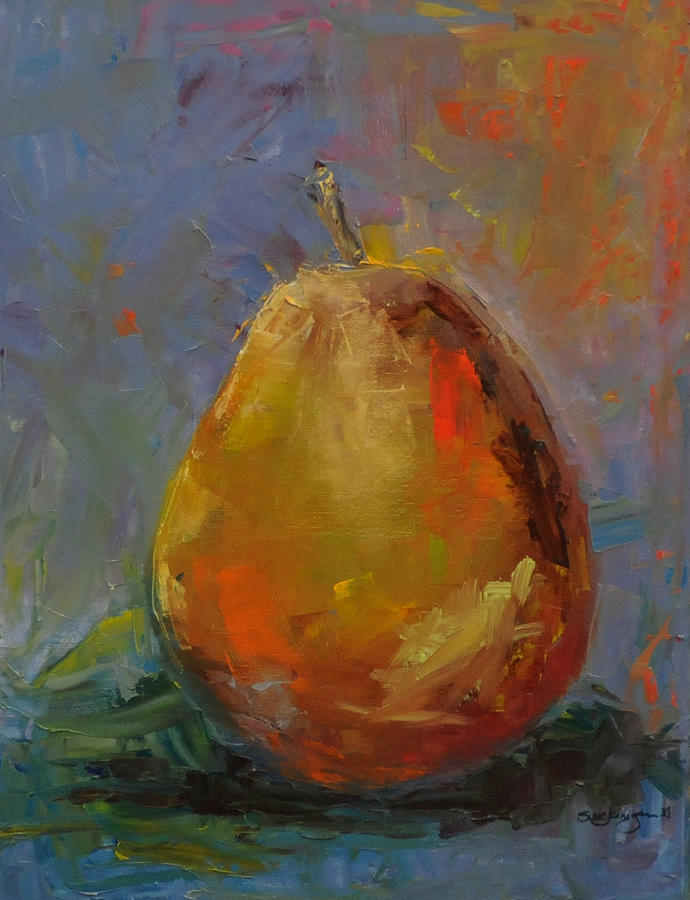 Pear For Becky Painting