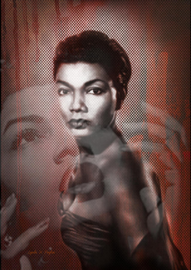 Pearl Bailey Digital Art