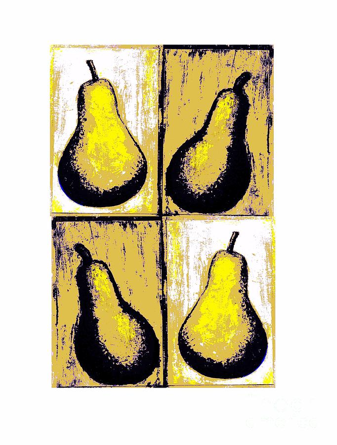 Pears- Warhol Style Painting
