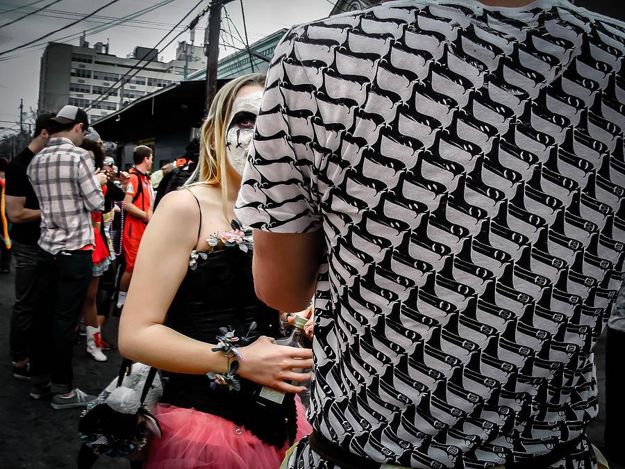 Peek-a-boo Photograph - Peek-a-boo Surreal In New Orleans by Louis Maistros