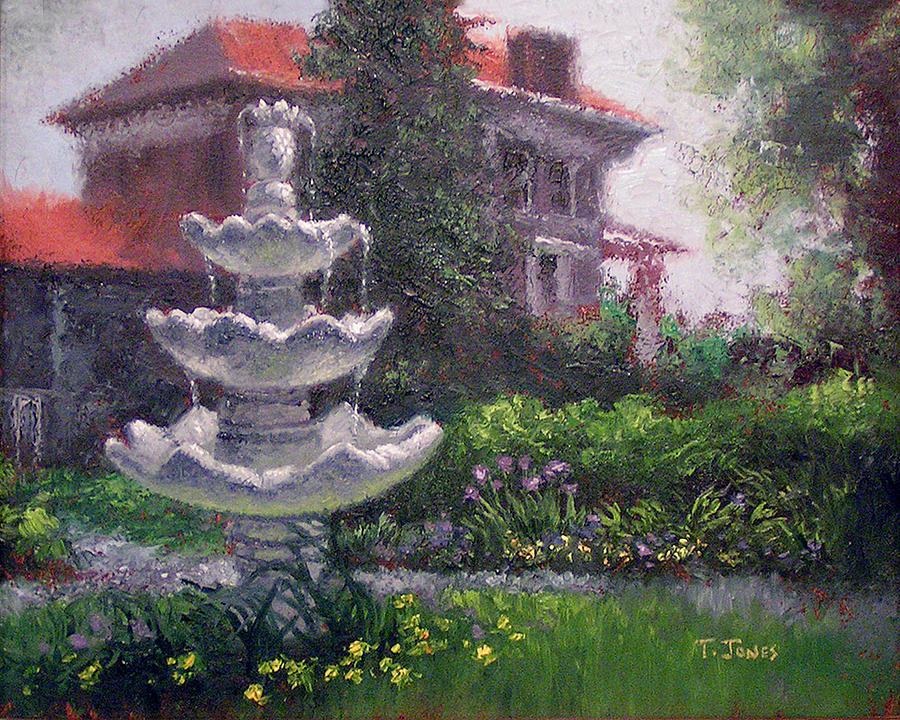 Peel Mansion Painting  - Peel Mansion Fine Art Print