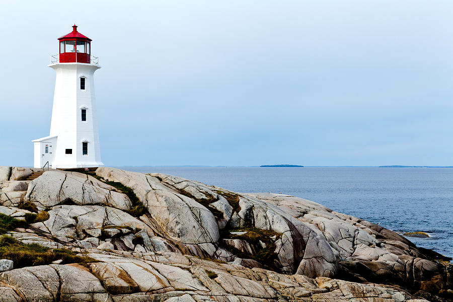 Peggys Cove Light II Photograph