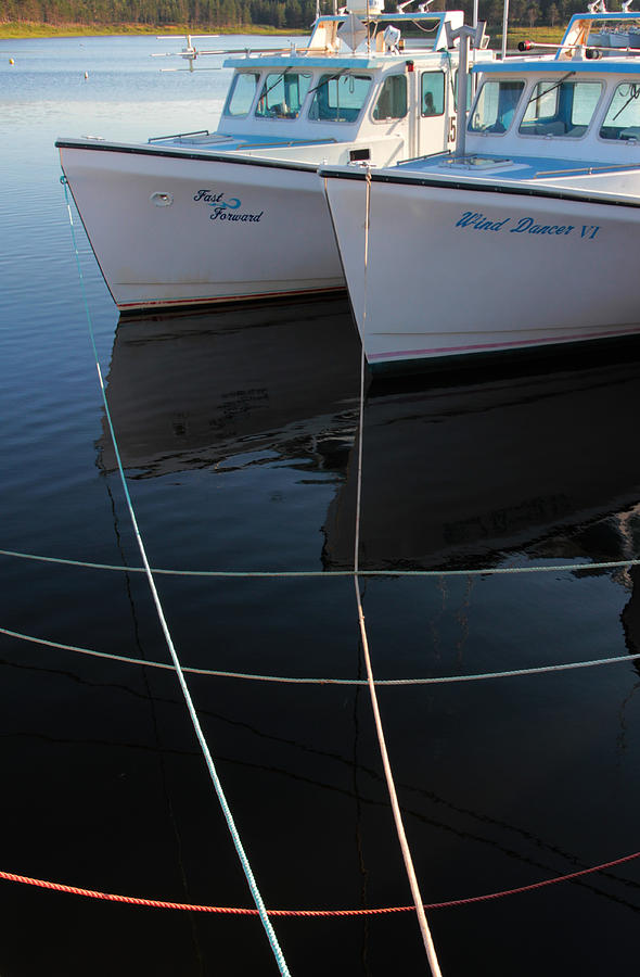 Pei Boats  Photograph