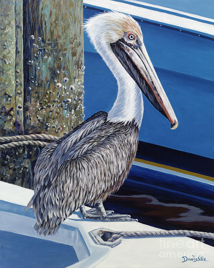 Pelican Blues Painting