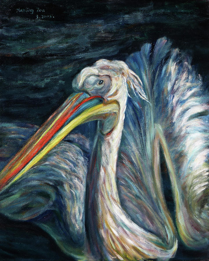 Pelican Painting  - Pelican Fine Art Print