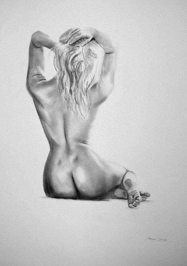 pencil sketches of nude teen girls