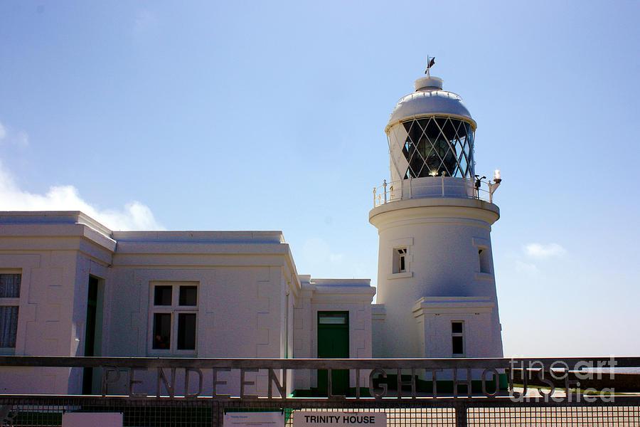 Pendeen Lighthouse Cornwall Photograph