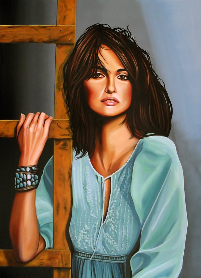 Penelope Cruz Painting