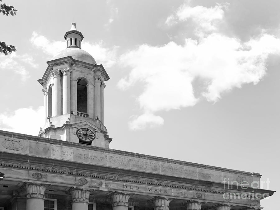 Penn State Old Main Cupola Photograph
