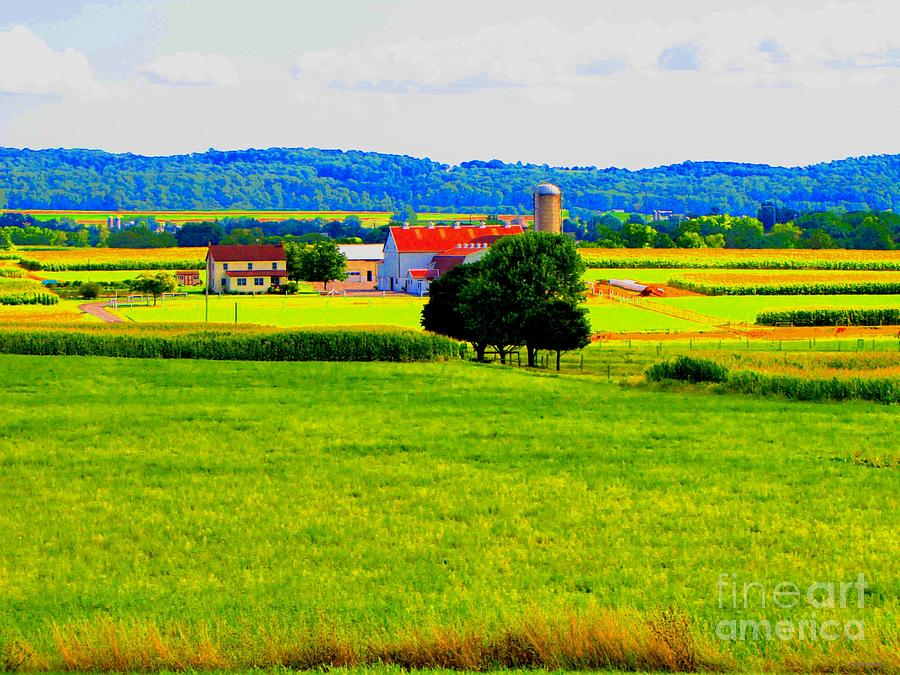 Pennsylvania Farm Photograph  - Pennsylvania Farm Fine Art Print
