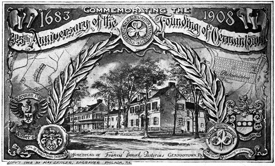 1908 Painting - Pennsylvania Germantown by Granger