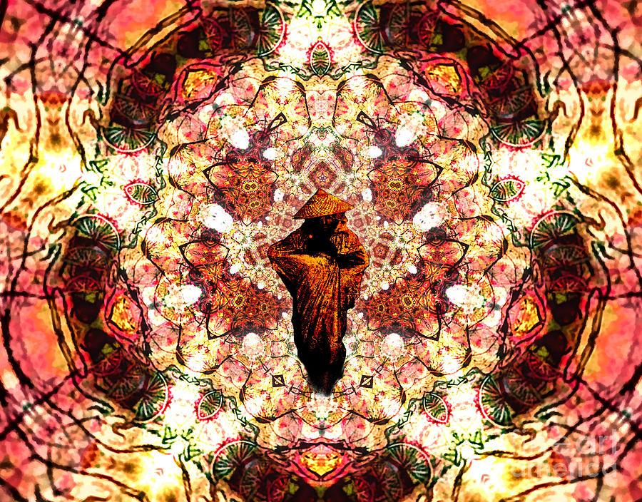 Pentagrammathanatos Severe Beauty Digital Art