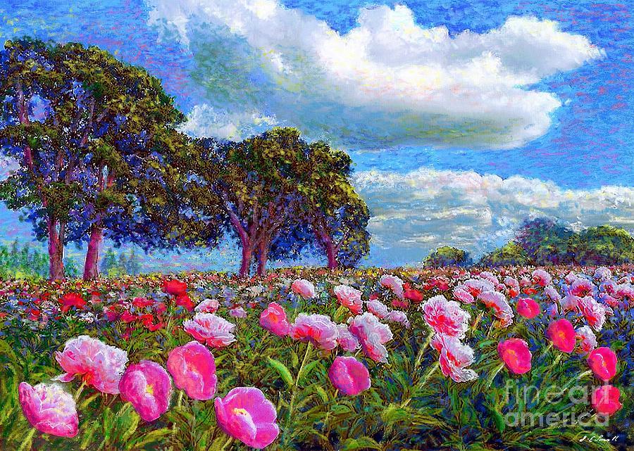 Peony Heaven Painting