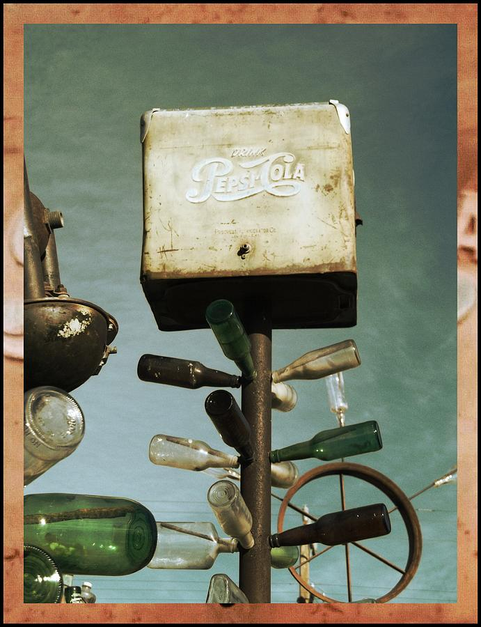 Pepsi Bottle Tree - Route 66 Photograph