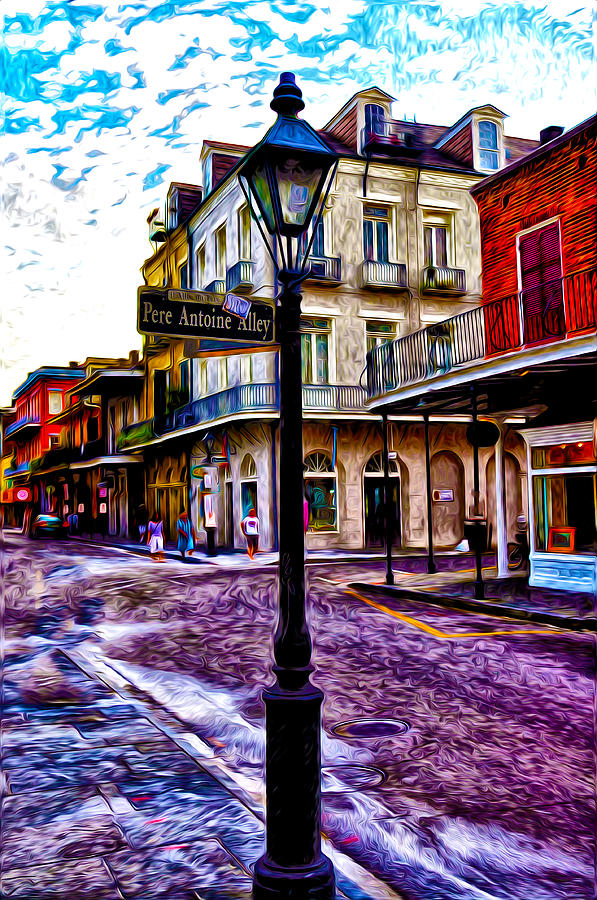 Pere Antoine Alley - New Orleans Photograph  - Pere Antoine Alley - New Orleans Fine Art Print
