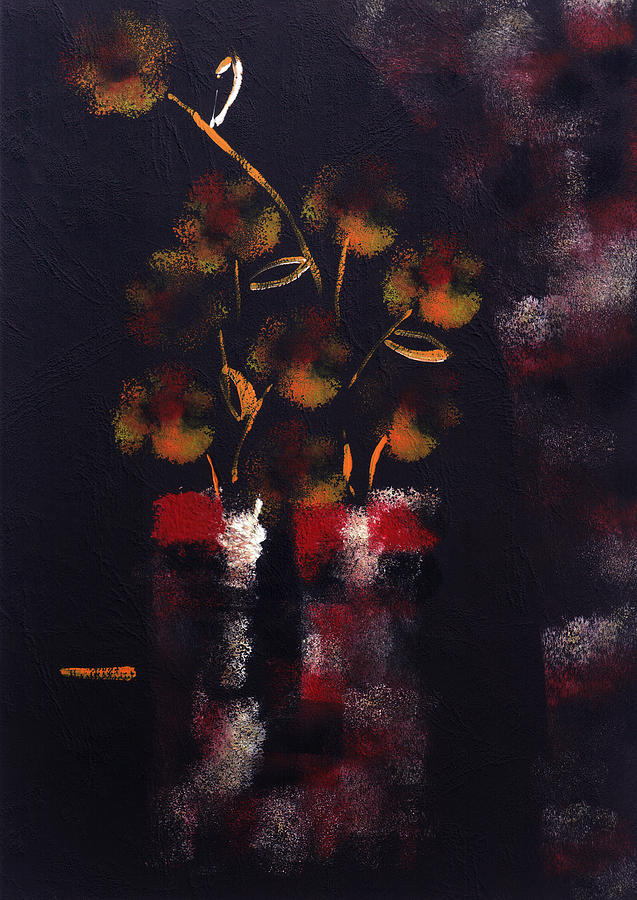 Perfume Of Night Flowers Painting
