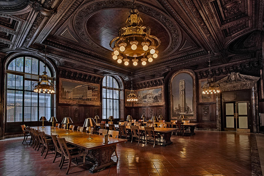 Nyc Photograph - Periodicals Room New York Public Library by Susan Candelario