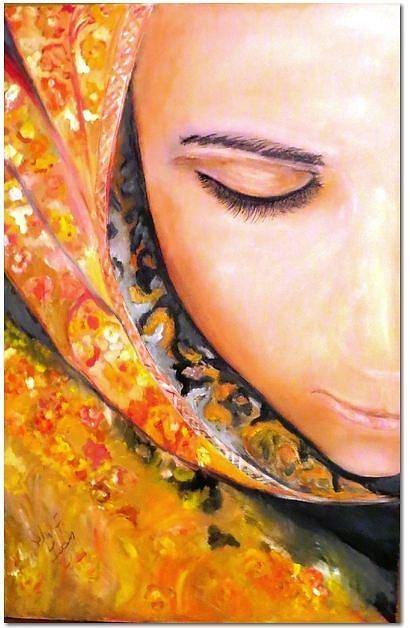 Painting - Persijka by Ferid Sefer