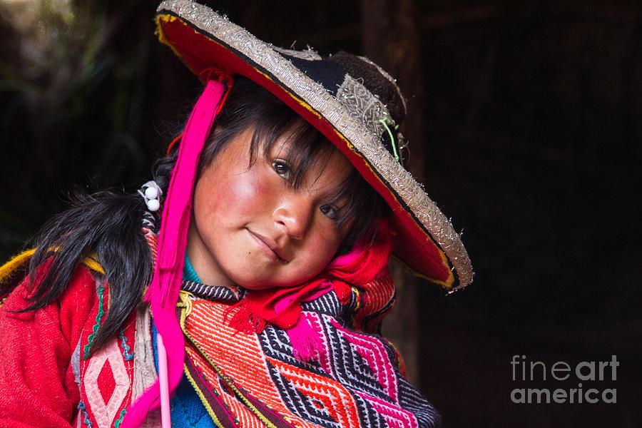 Peruvian Child 4 Photograph By Dan Hartford