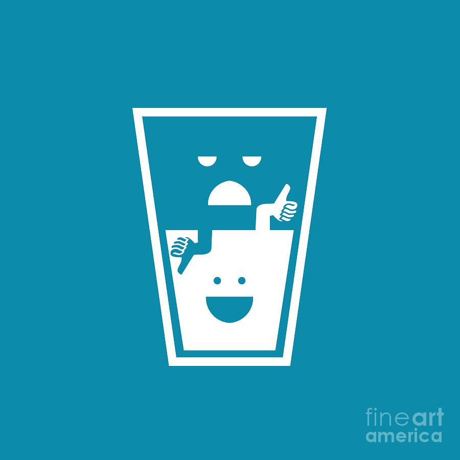 Pessimistic Optimistic Digital Art