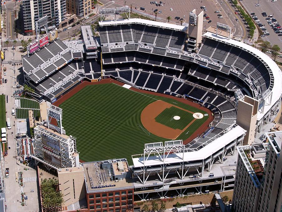Petco Ball Park Photograph  - Petco Ball Park Fine Art Print