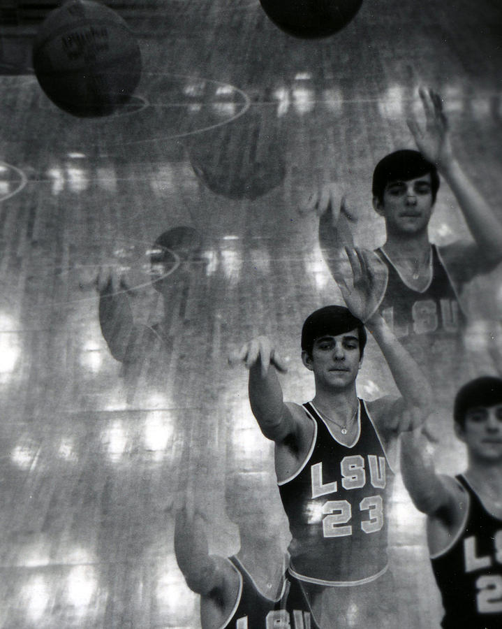 Classic Photograph - Pete Maravich Kaleidoscope by Retro Images Archive