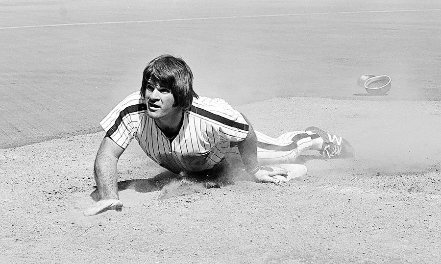 Pete Rose Photograph