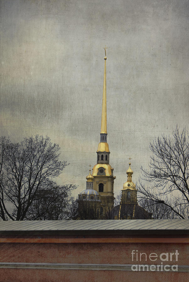 Peter And Paul Fortress Photograph