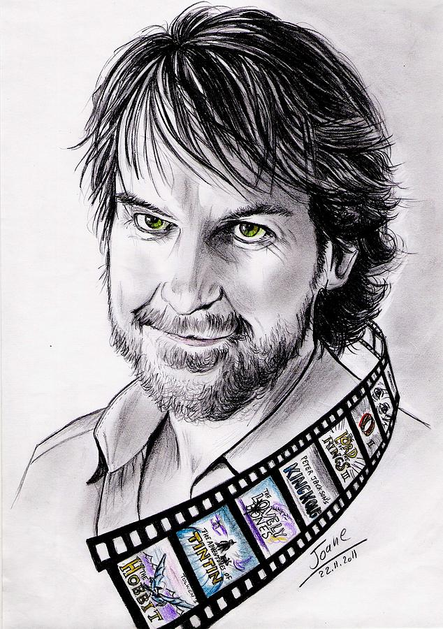 Peter Jackson Drawing  - Peter Jackson Fine Art Print