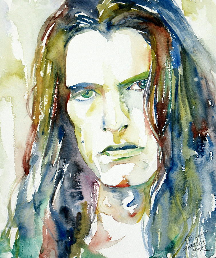 Peter Steele Portrait.4 Painting  - Peter Steele Portrait.4 Fine Art Print