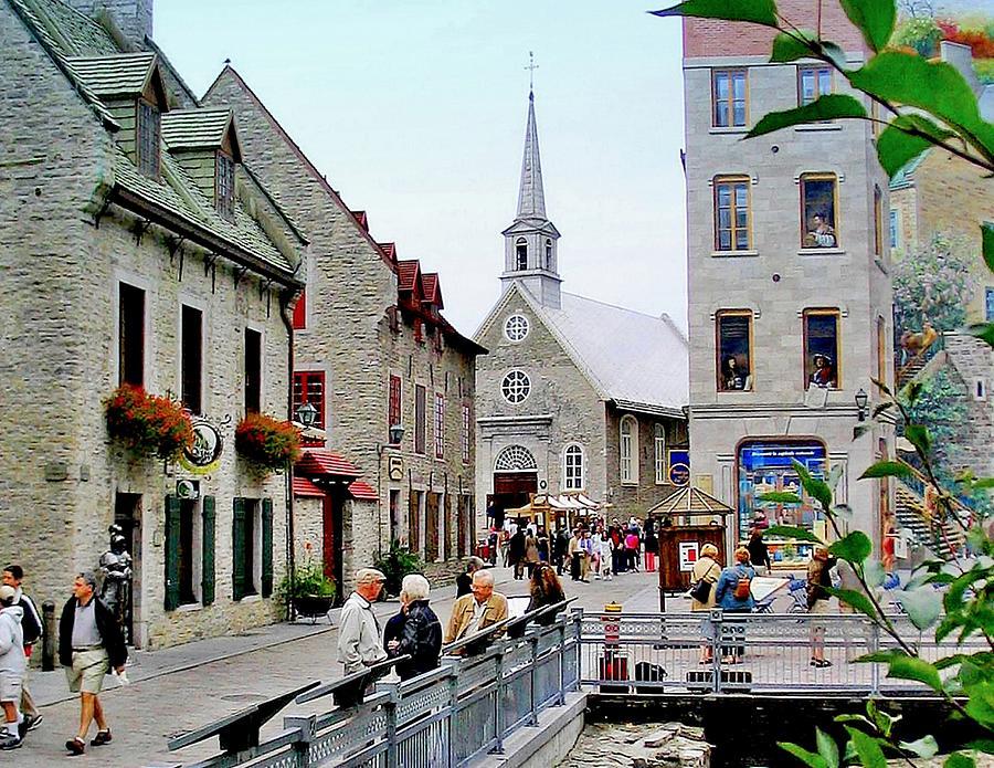 Petit - Champlain Quebec  Photograph