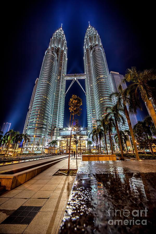 Petronas Twin Towers Photograph