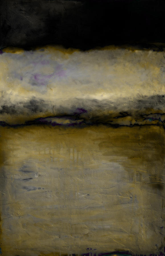 Pewter Skies Painting  - Pewter Skies Fine Art Print