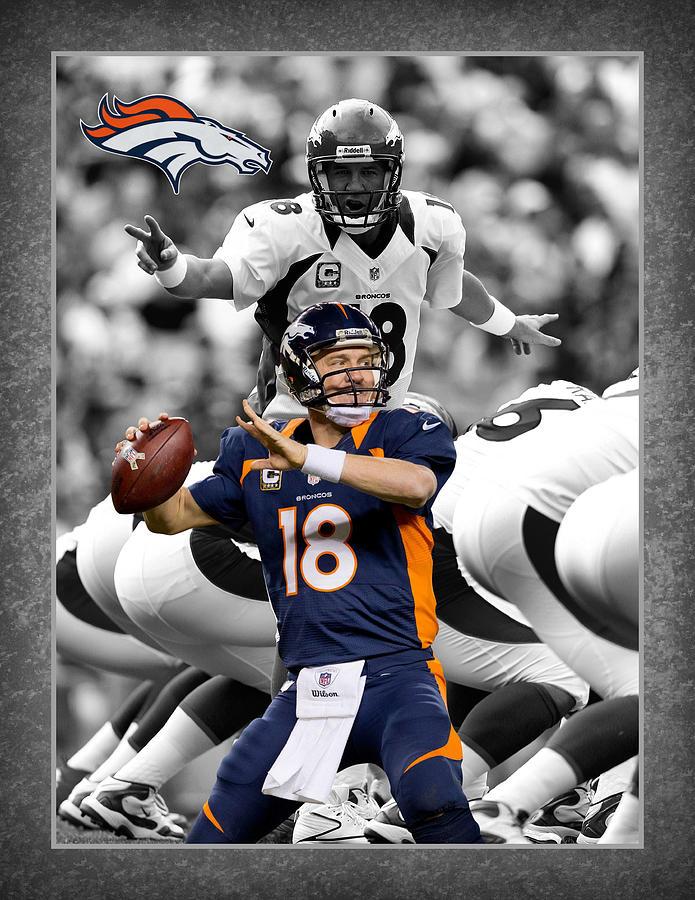 Peyton Manning Broncos Photograph