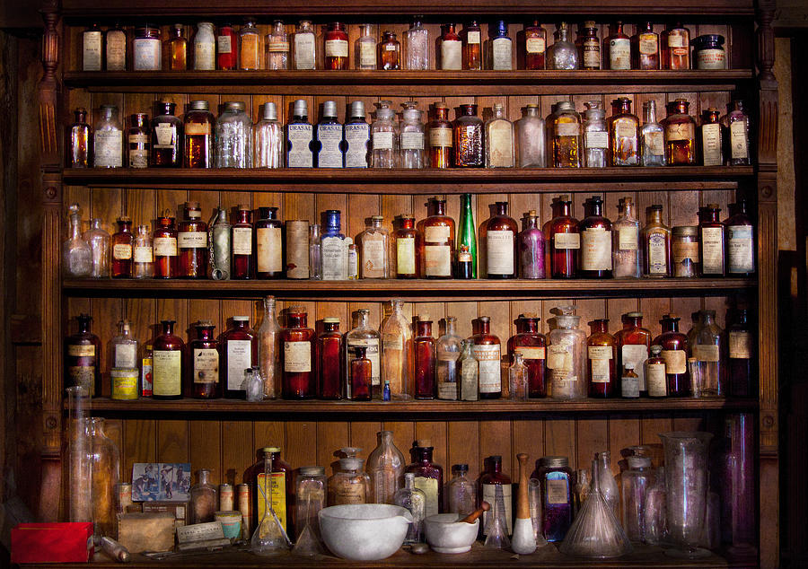 Pharmacy - Pharma-palooza  Photograph  - Pharmacy - Pharma-palooza  Fine Art Print