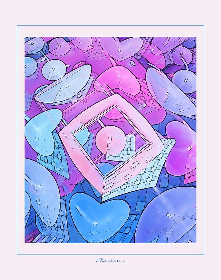 Fractal Digital Art - Phastasm by Gayle Odsather
