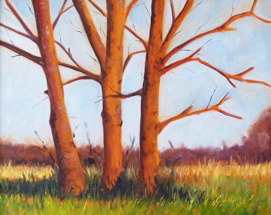 Pheasant Season Painting