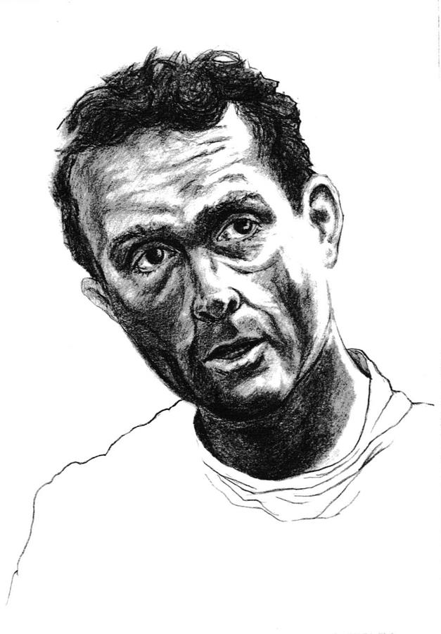 Phil Hill Drawing