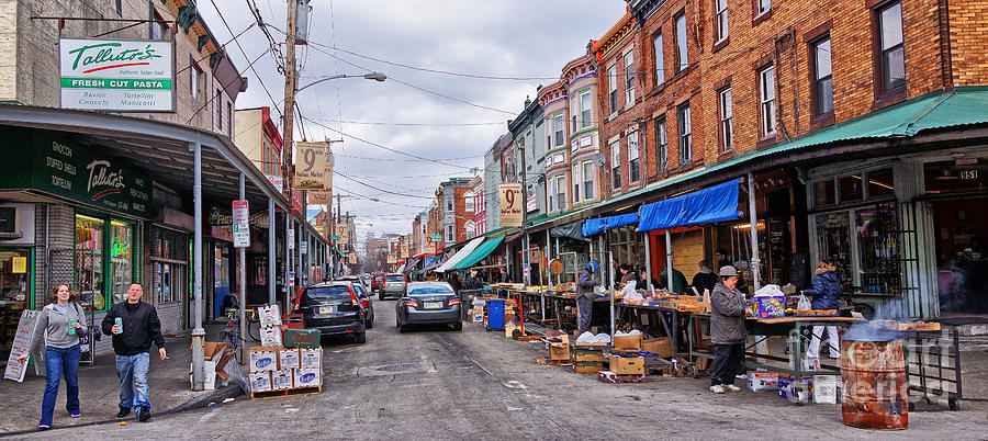 Philadelphia Italian Market 2 Photograph