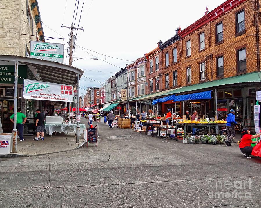 Philadelphia Italian Market 4 Photograph