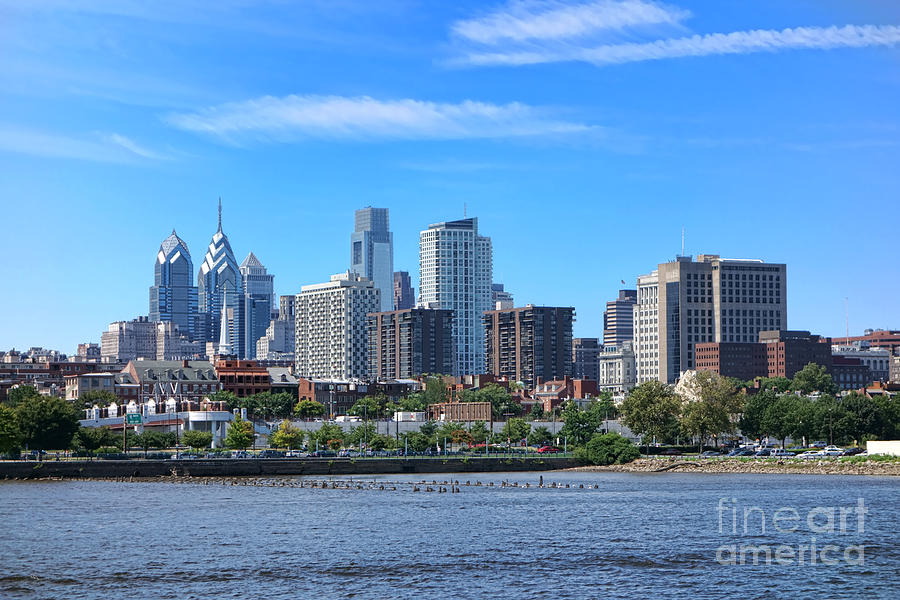Philadelphia Living Photograph  - Philadelphia Living Fine Art Print