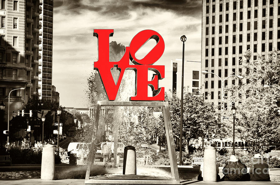 Philadelphia Love Mixed Photograph