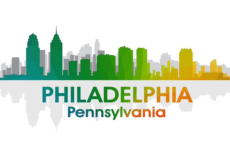Philadelphia Pa Mixed Media