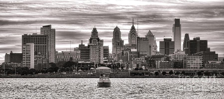 Philadelphia Photograph - Philadelphia Silver by Olivier Le Queinec