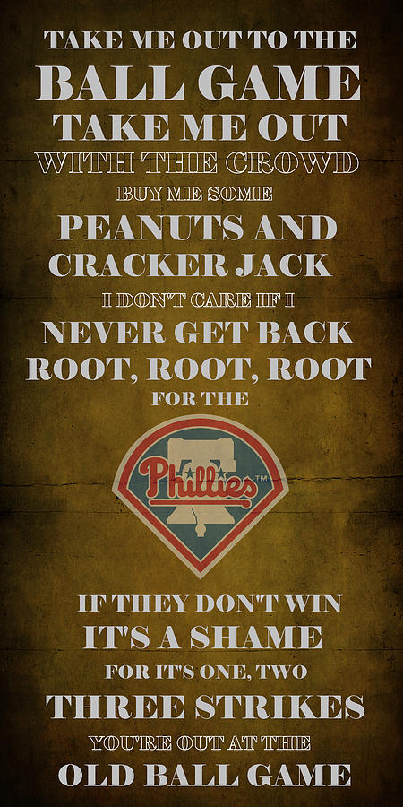 Phillies Peanuts And Cracker Jack  Digital Art