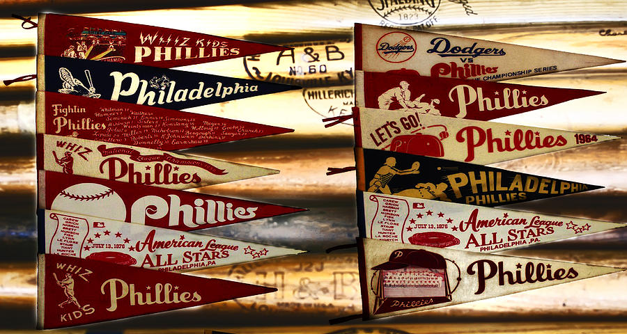 Phillies Pennants Photograph  - Phillies Pennants Fine Art Print