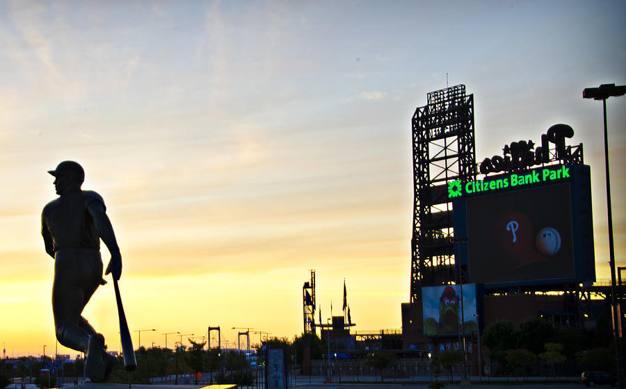 Phillies Stadium At Dawn Photograph
