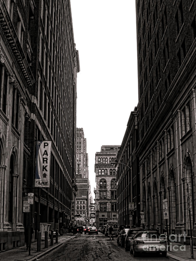 Philadelphia Photograph - Philly Street by Olivier Le Queinec